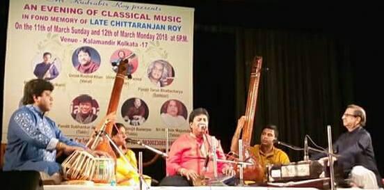 Ustad Rashid Khan, Pandit Subhankar Banerjee & Jyoti Goho Live in Concert at Kalamandir, Kolkata.